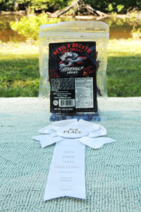 Werewolf Jerky with award